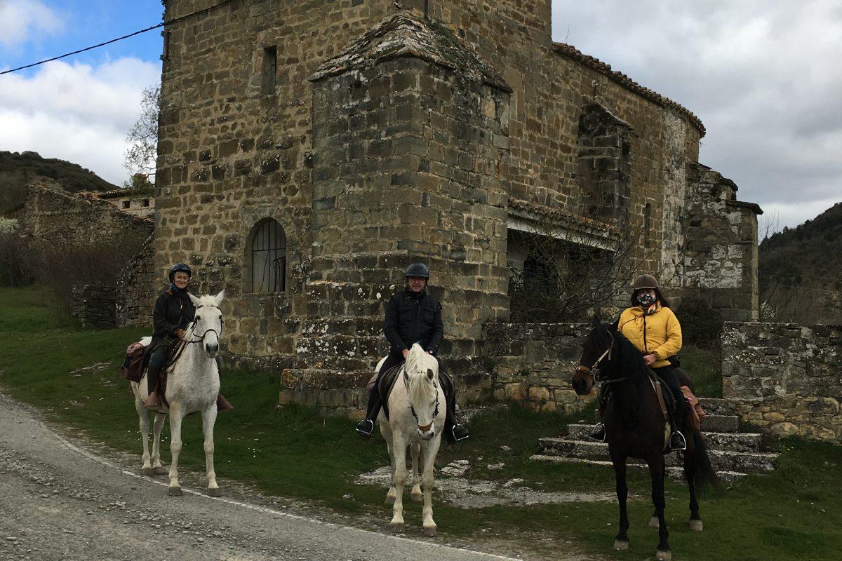 rutas a caballo navarra